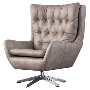 Dicken Swivel Wingback Chair