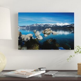 Ready To Hang Canvas Wall Art Fast Deliver Lake In A Park In Croatia By Fake 3d Window
