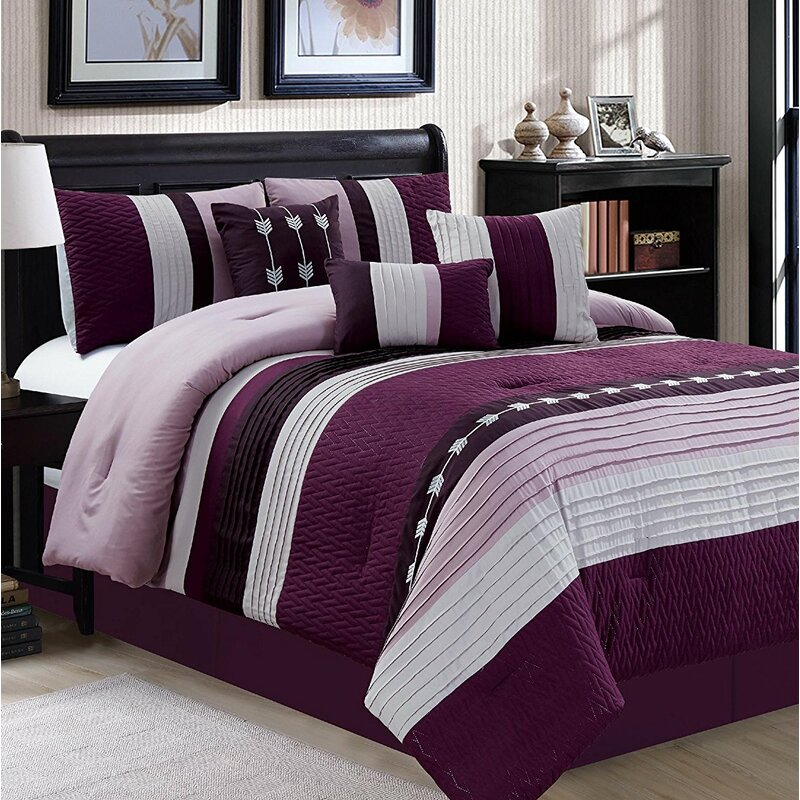 Zybert 7 Piece Comforter Set