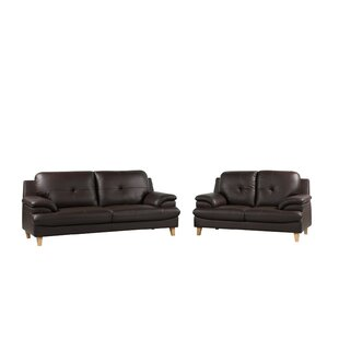 Ashdown 2 Piece Sofa Set By Mercury Row