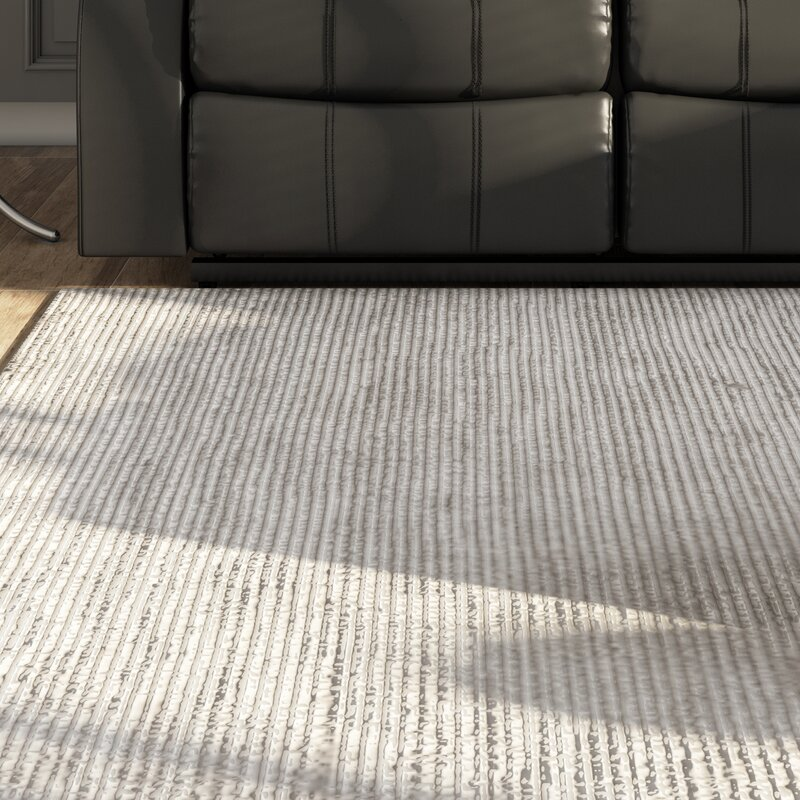 Melbourne Hand Woven Gray Area Rug