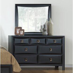 Mercer41 Schuyler 7 Drawer Dresser with Mirror