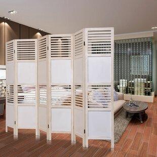 Ebern Designs Irie 6 Panel Room Divider
