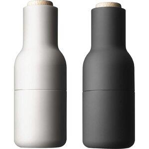 Small Bottle Salt and Pepper Grinder (Set of 2)