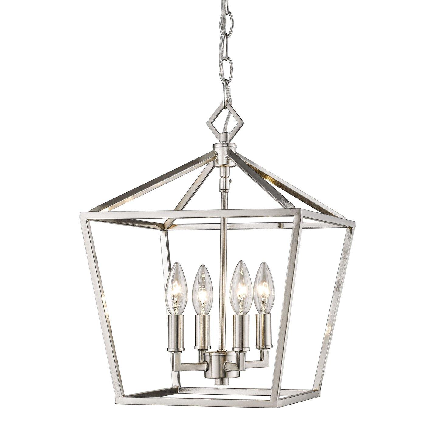 Satin Nickel Pendant Lighting You Ll Love In 2021 Wayfair