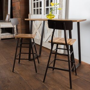 Islemade 3 Piece Bar Table Set by Laurel Foundry Modern Farmhouse