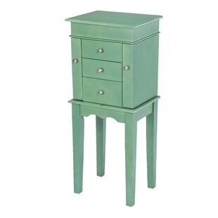 Hummer Free Standing Jewelry Armoire by Highland Dunes