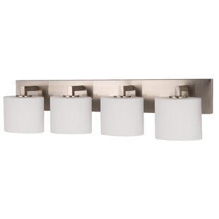 Newsom 4-Light Vanity Light by Latitude Run