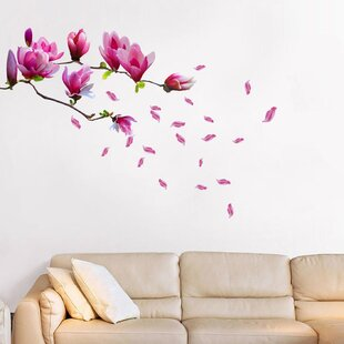 Magnolia Flower Wall Decal