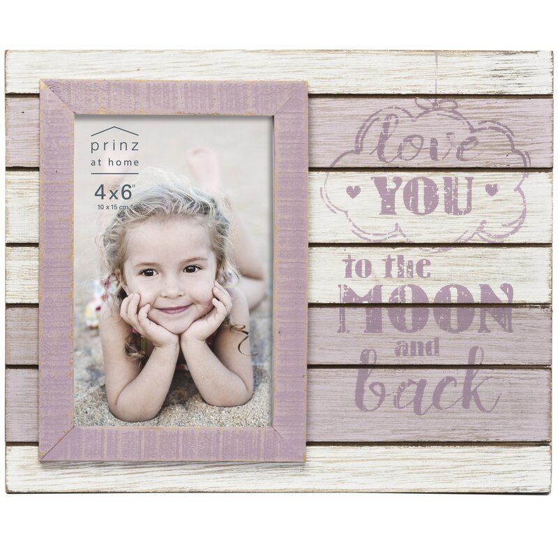 Prinz Kendall Love You To The Moon And Back Picture Frame Wayfair