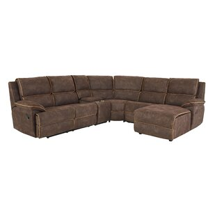 Charlita Reclining Sectional by Ebern Designs