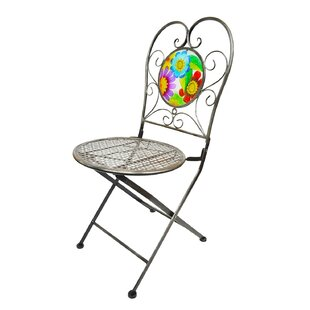 Butterfly Bistro Armless Folding Director Chair by Continental Art Center