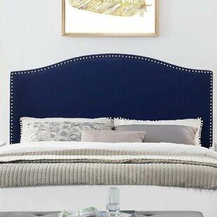 Vienna Upholstered Panel Headboard by Winston Porter