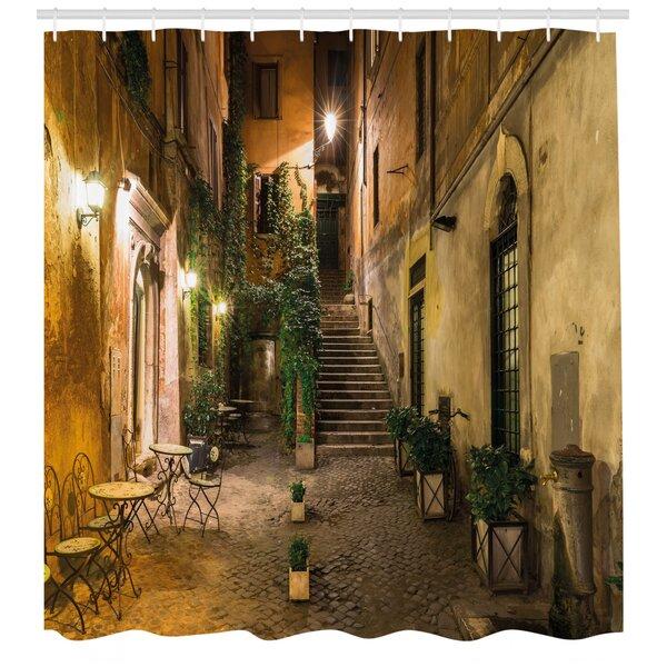 Italian Shower Curtain Wayfair