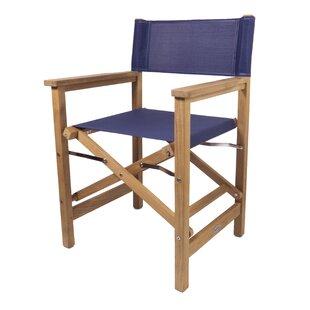 Addilyn Folding Director Chair by Longshore Tides