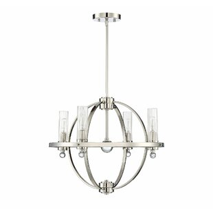 Latitude Run Madrigal 4-Light Globe Chandelier