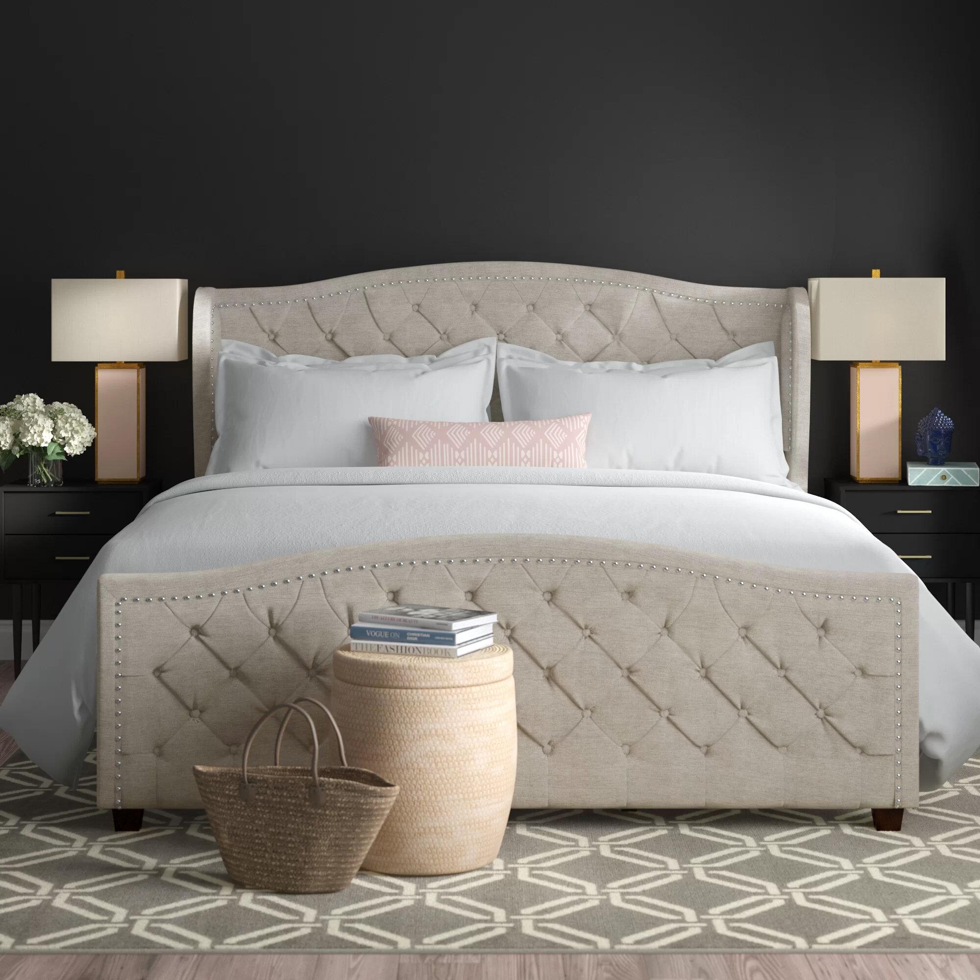 Brookland Upholstered Standard Bed Reviews