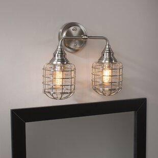 Budget Roberts 2-Light Vanity Light By Trent Austin Design