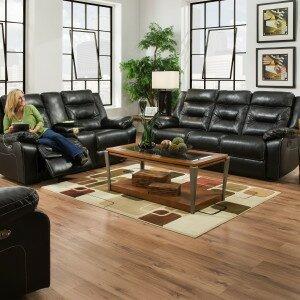 Andover Mills Chadbourne Reclining Configurable Living Room Set