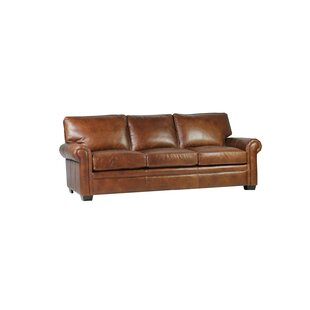 Shopping for Coggins Leather Sofa by Williston Forge Reviews (2019) & Buyer's Guide