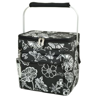 Picnic at Ascot 24 Can Night Bloom Wine and Multi Purpose Picnic Cooler