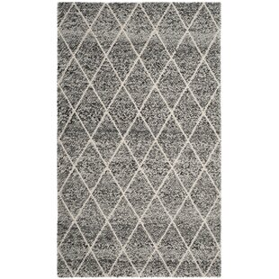 Top Reviews Billie Hand-Tufted Ivory/Black Area Rug By Laurel Foundry Modern Farmhouse