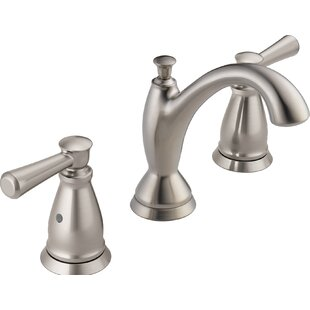 Delta Linden™ Widespread Bathroom Faucet with Drain Assembly and Diamond Seal™ Technology