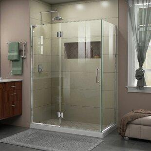 DreamLine Unidoor-X 47 3/8 in. W x 34 in. D x 72 in. H Hinged Shower Enclosure