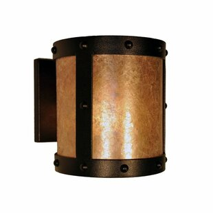Rivets 1-Light Outdoor Sconce by Steel Pa..
