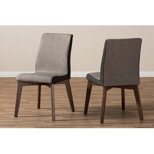 Price comparison Sechrist Upholstered Dining Chair (Set of 2) by Ivy Bronx Reviews (2019) & Buyer's Guide