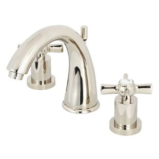 Kingston Brass Millennium Widespread Bathroom Faucet with Drain Assembly