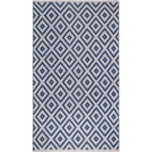 Huddleston Blue Indoor/Outdoor Area Rug by Union Rustic