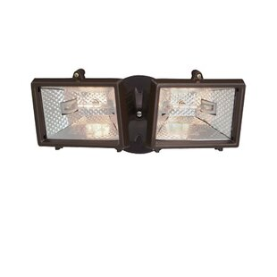 Cinderford Dusk to Dawn Outdoor Security Flood Light by Freeport Park