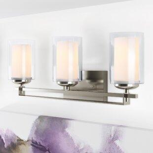 Bargain Nettie 3-Light Wall Sconce By Zipcode Design