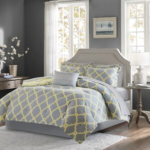 alta reversible complete comforter and cotton sheet set