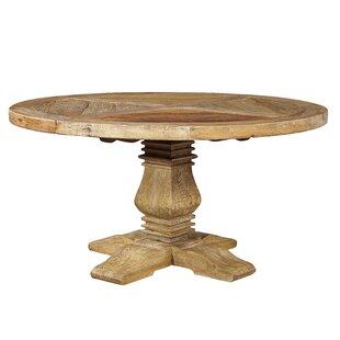 Loon Peak Rosedale Round Solid Wood Dinin..