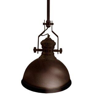 17 Stories Aidan 1-Light Bell Pendant