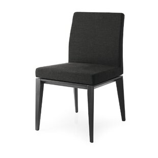 Calligaris Bess Low Leather Genuine Leather Upholstered Dining Chair