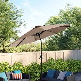 42 Inches Rainproof Men 10 Ribs Automatic Opening and Closing,Dallas in The Morning Texas,Windproof RLDSESS Outdoor Umbrella Ladies