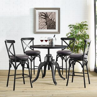 Woodbranch 5 Piece Pub Table Set