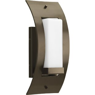 Affordable Philomena 1-Light Outdoor Sconce By Latitude Run