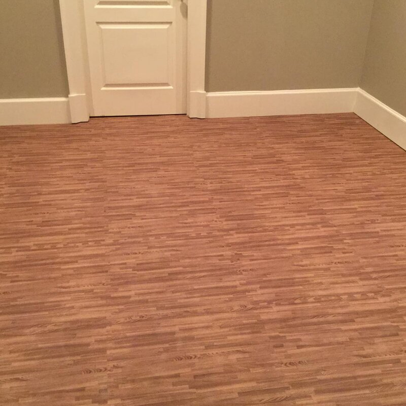 Wood Grain Reversible Foam Tiles