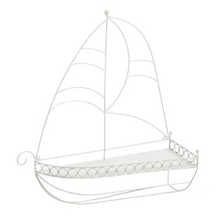 Breakwater Bay Antique Sail Boat Accent S..