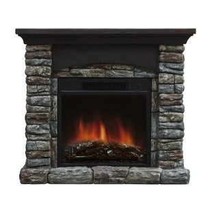 Breckin Electric Fireplace by Stonegate