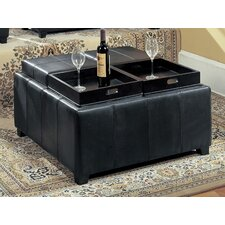 Cocktail Ottoman by Wildon Home