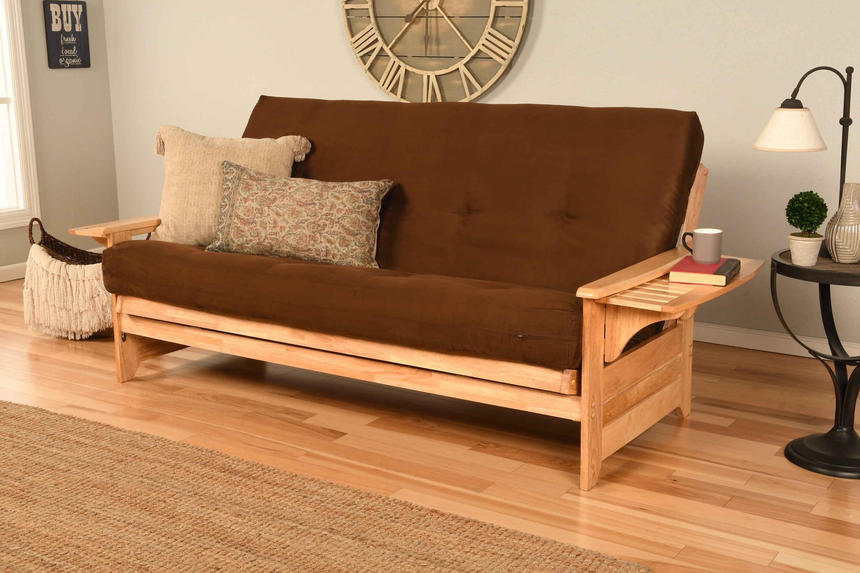Cushion Back Futon And Mattress