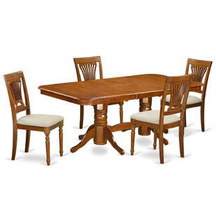 Pillsbury 5 Piece Extendable Dining Set b..