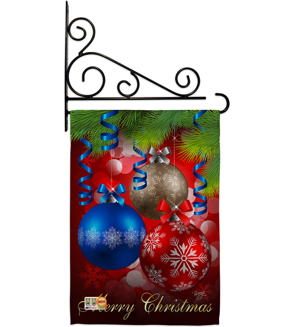 Breeze Decor Ornaments 2 Sided Polyester 19 X 13 In Flag Set Wayfair