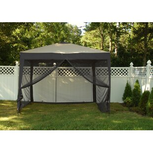 Stow 10 Ft. W x 10 Ft. D Aluminum Patio Gazebo by Ben and Jonah