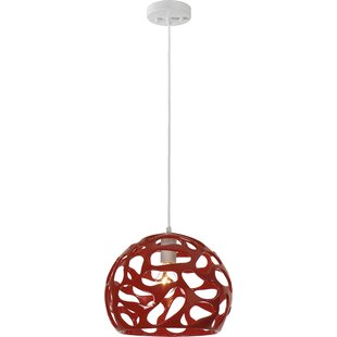 Mcglothin 1-Light Novelty Pendant